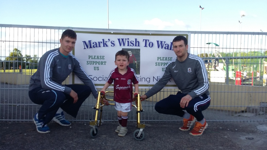 Marks wish to walk with Galway Hurling heroes